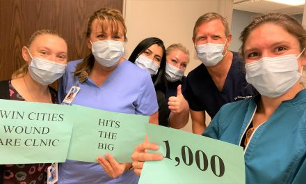 Twin Cities' Wound Care Clinic Reaches 1,000 Patients Served