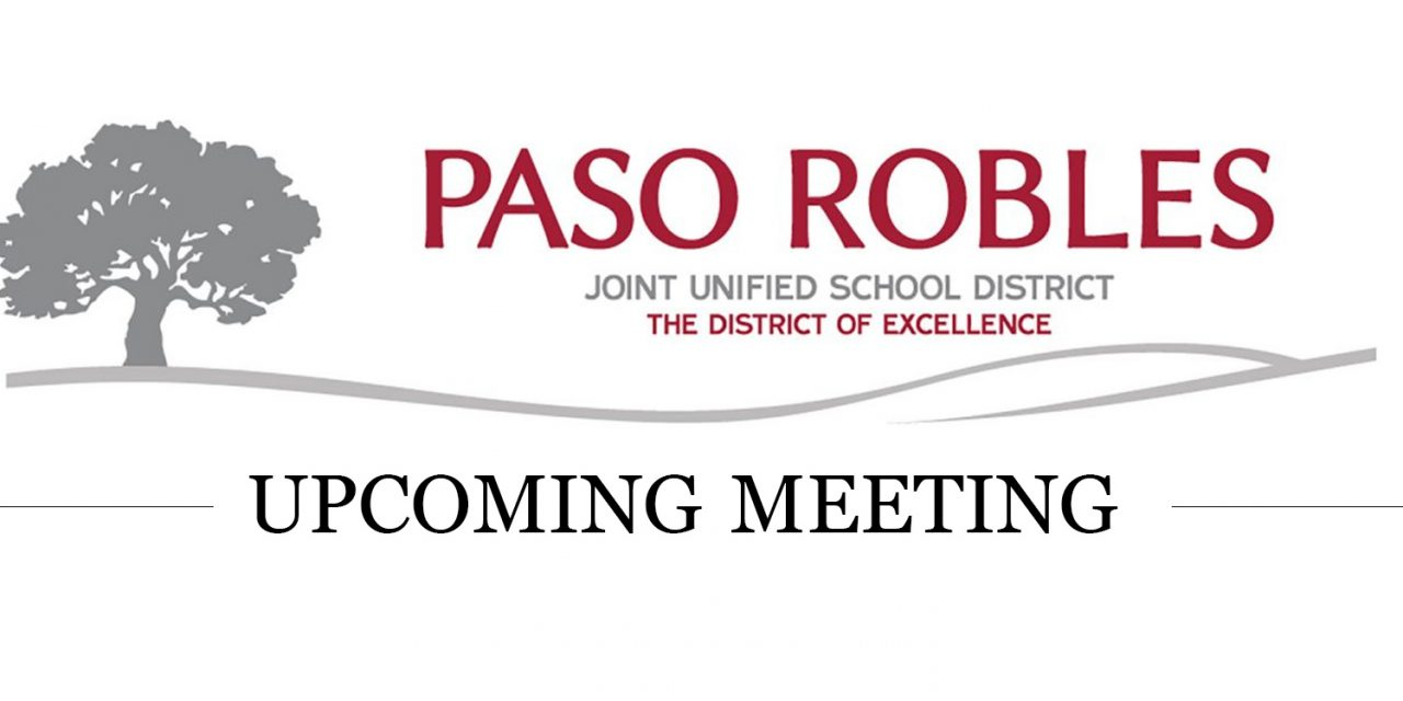 Upcoming PRJUSD Meeting, Feb. 23