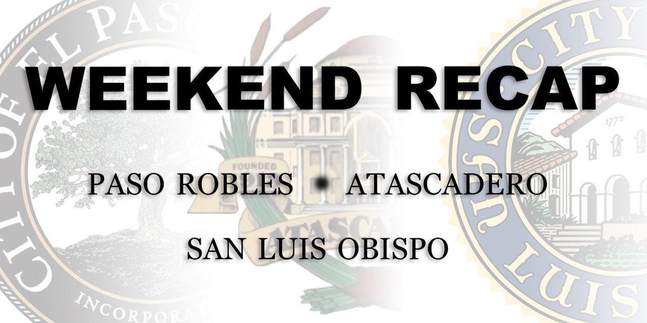 SLO County Weekend Recap