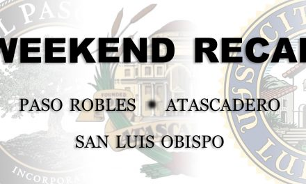 SLO County Weekend Recap