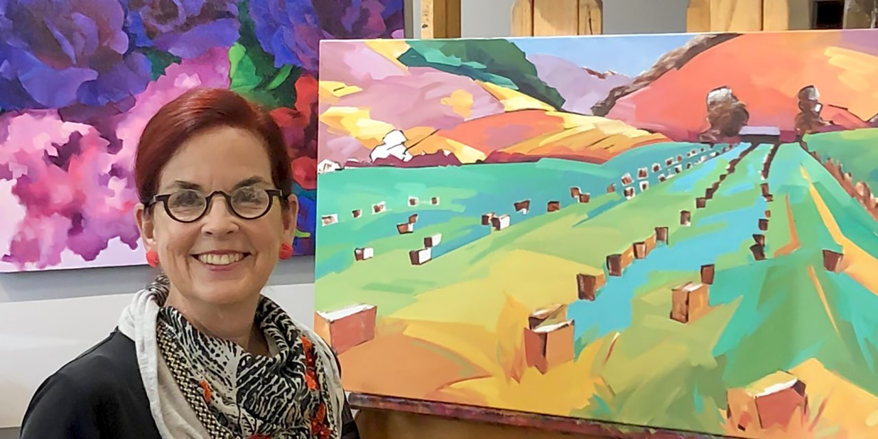 Studios on the Park Hosts 'Paint with Anne Laddon'