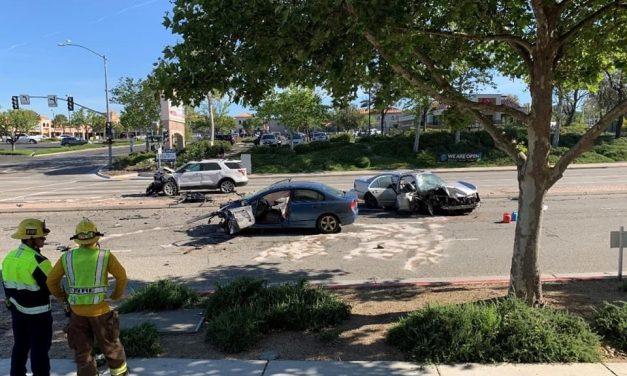 Serial Evader Apprehended Following Multi-car Crash in Paso Robles