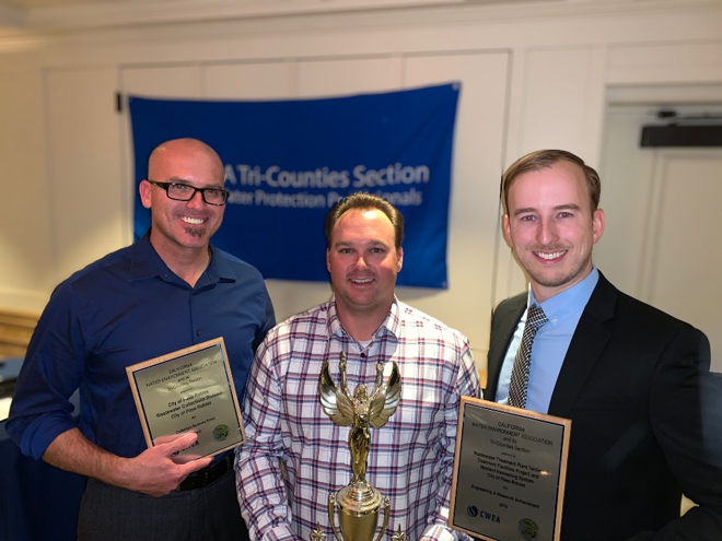 City of Paso Robles Receives Two Regional Water Quality Awards