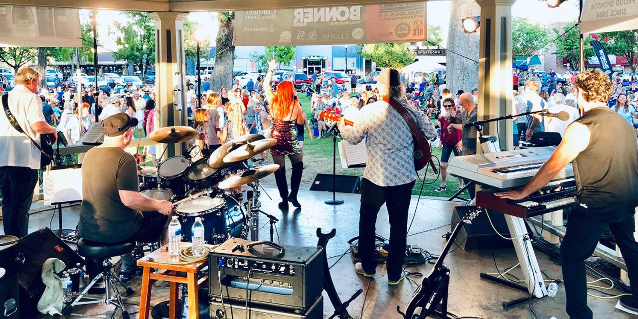 Paso Robles Summer Concerts in the Park Lineup for 20th Anniversary Season