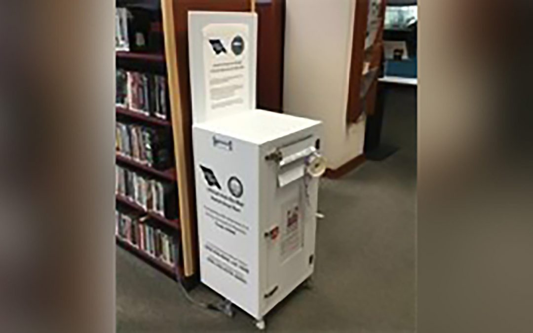 Ballot Drop Box at City Library