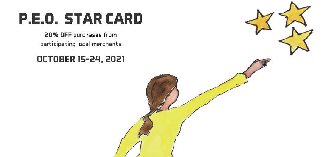 PEO Launches Star Card Fundraiser