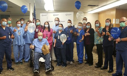 Sierra Vista Celebrates COVID-19 Patient Discharge