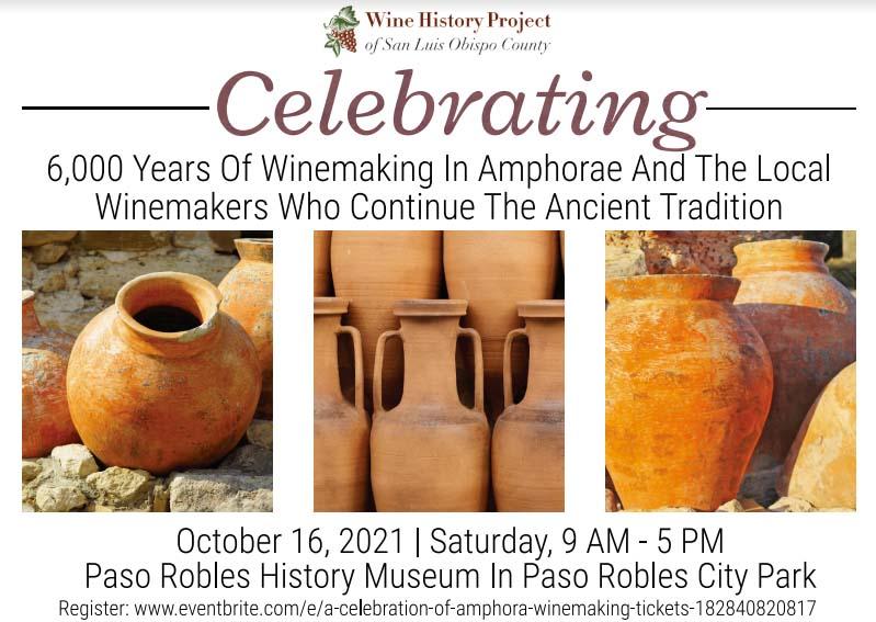 6,000 Years of Winemaking in Amphorae Celebrated Amphorae